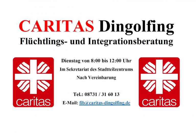 Grossansicht in neuem Fenster: Caritas Flyer